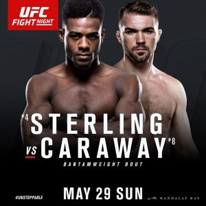 Aljamain Sterling vs Bryan Caraway - UFC Fight Night Vegas