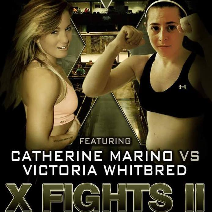 Catherine Marino fights at X Fights 2