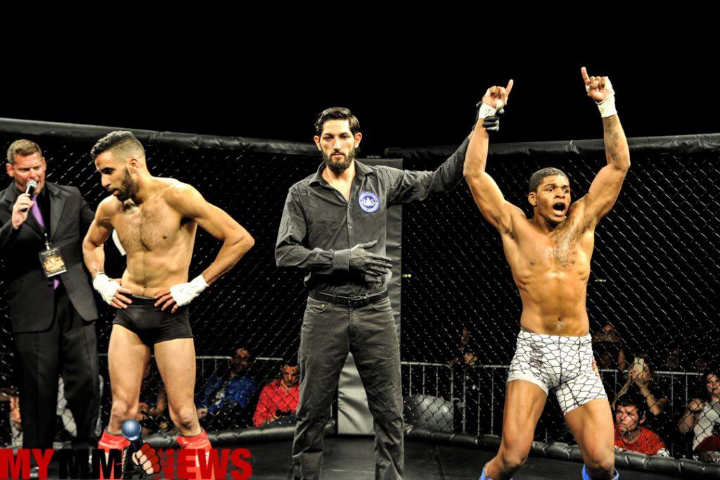 Timothy Tyler defeated Cio Cuevas - Photo by William McKee