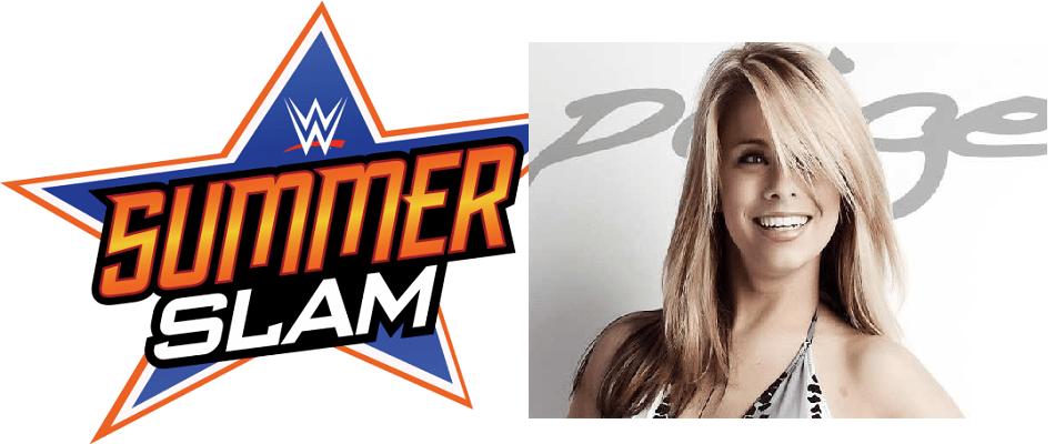 Paige VanZant WWE Summerslam
