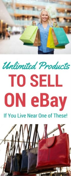 Unlimited Products to Sell on Ebay