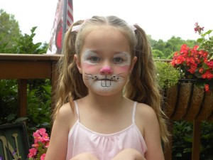 Face Painting Bunny Design