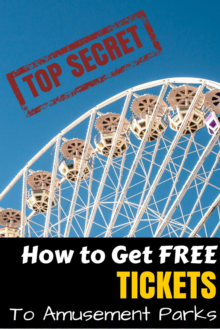 How to Get Free Tickets to Amusement Parks