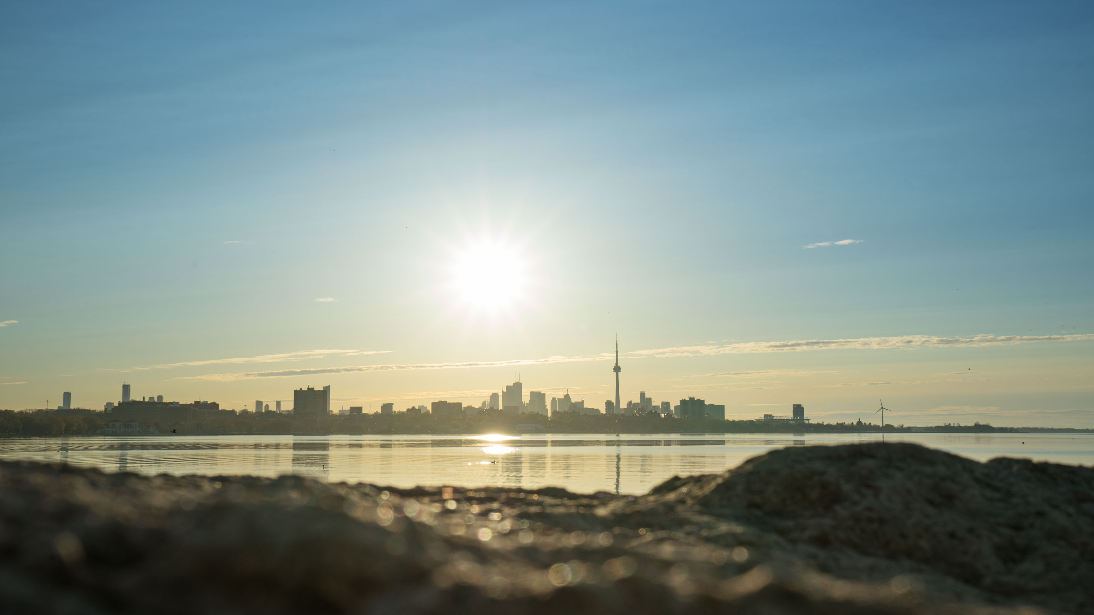 Toronto Sunrise from Humber