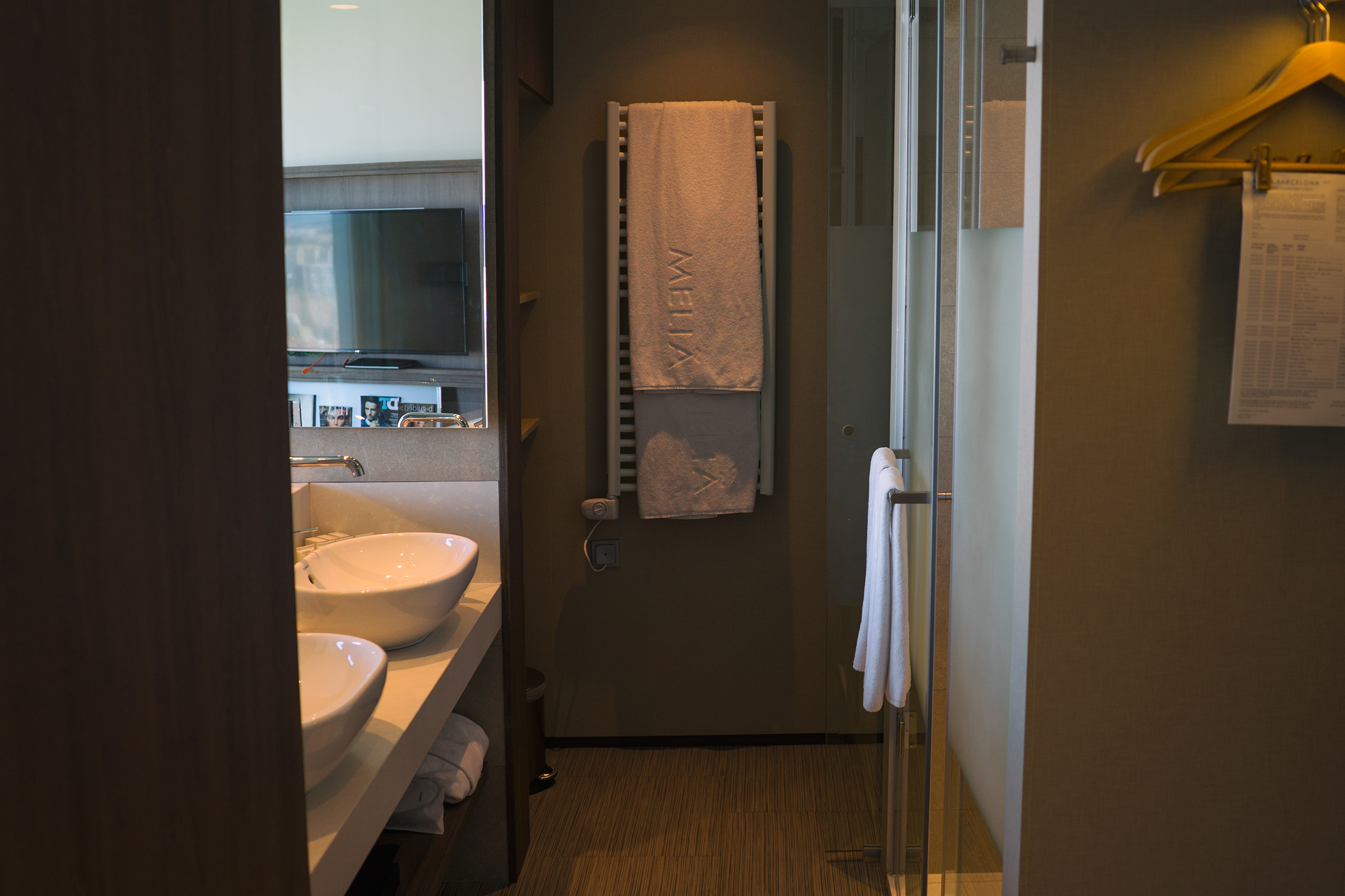 Level Melia Barcelona Sky Bathroom