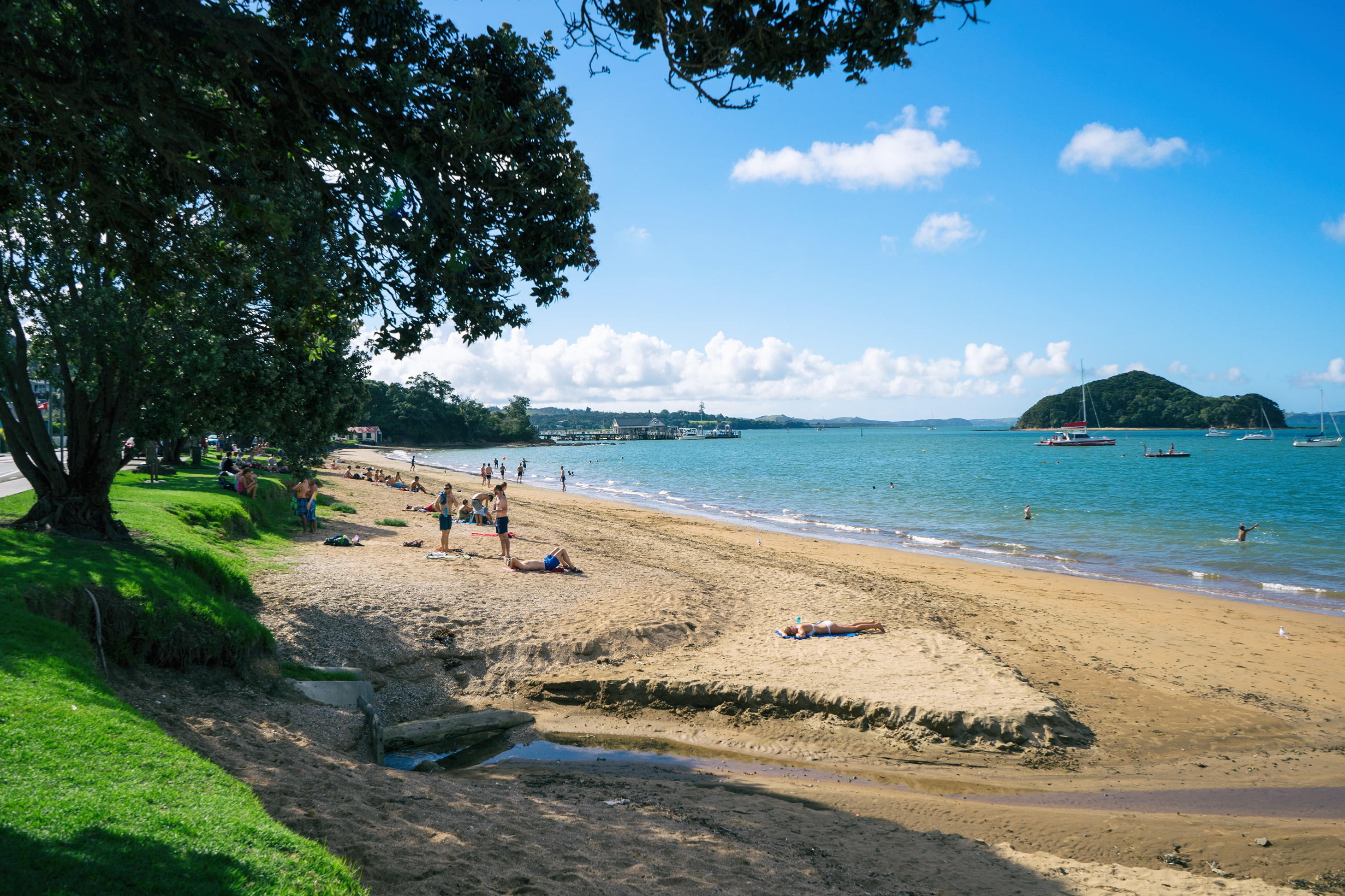 Bay of Islands Paihia Beach