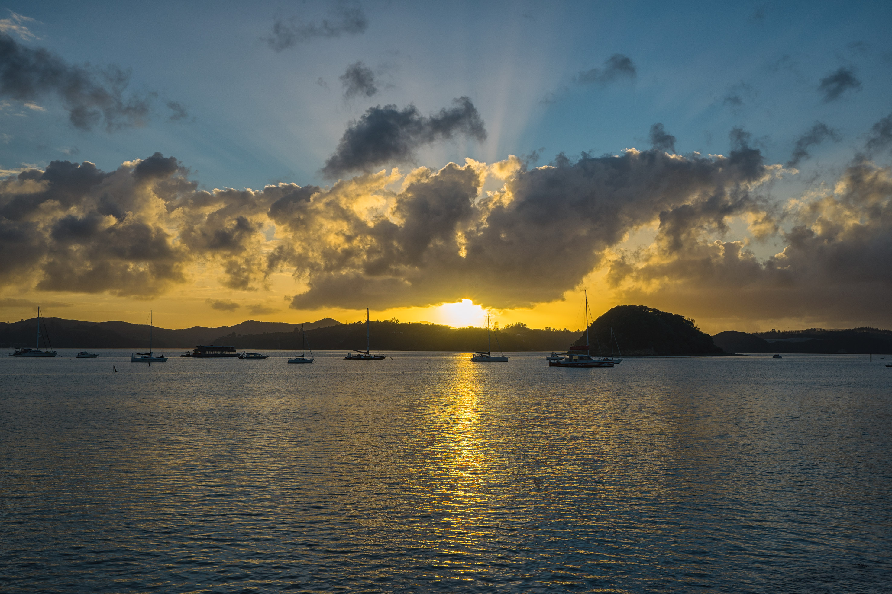 Bay of Islands Paihia Sunrise