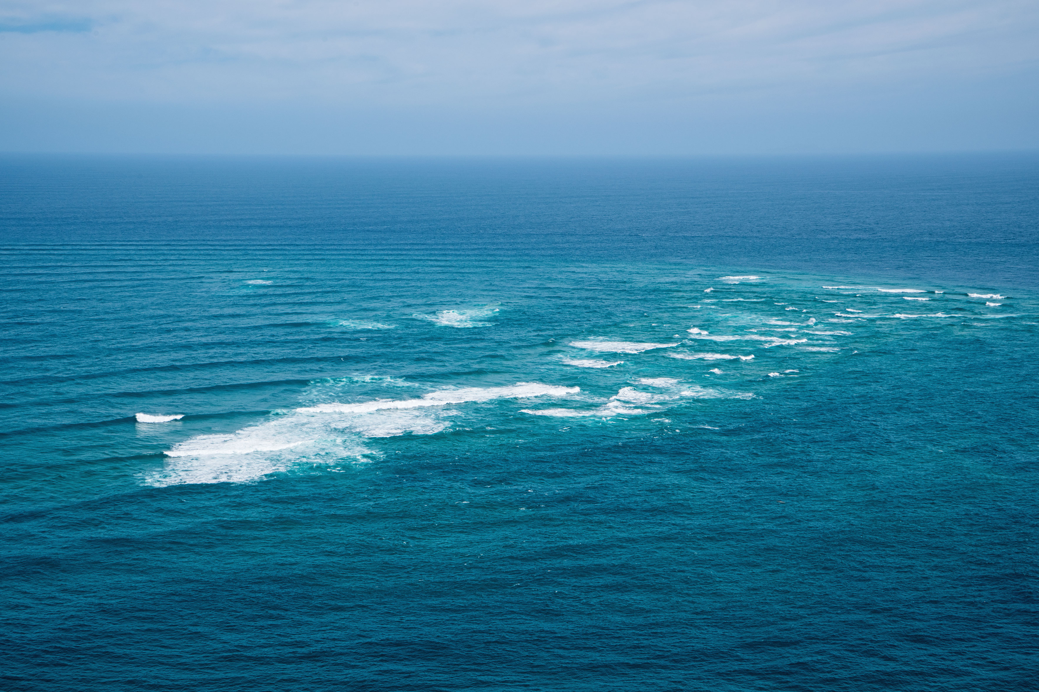Cape Reinga Tasman Sea Meets Pacific Ocean