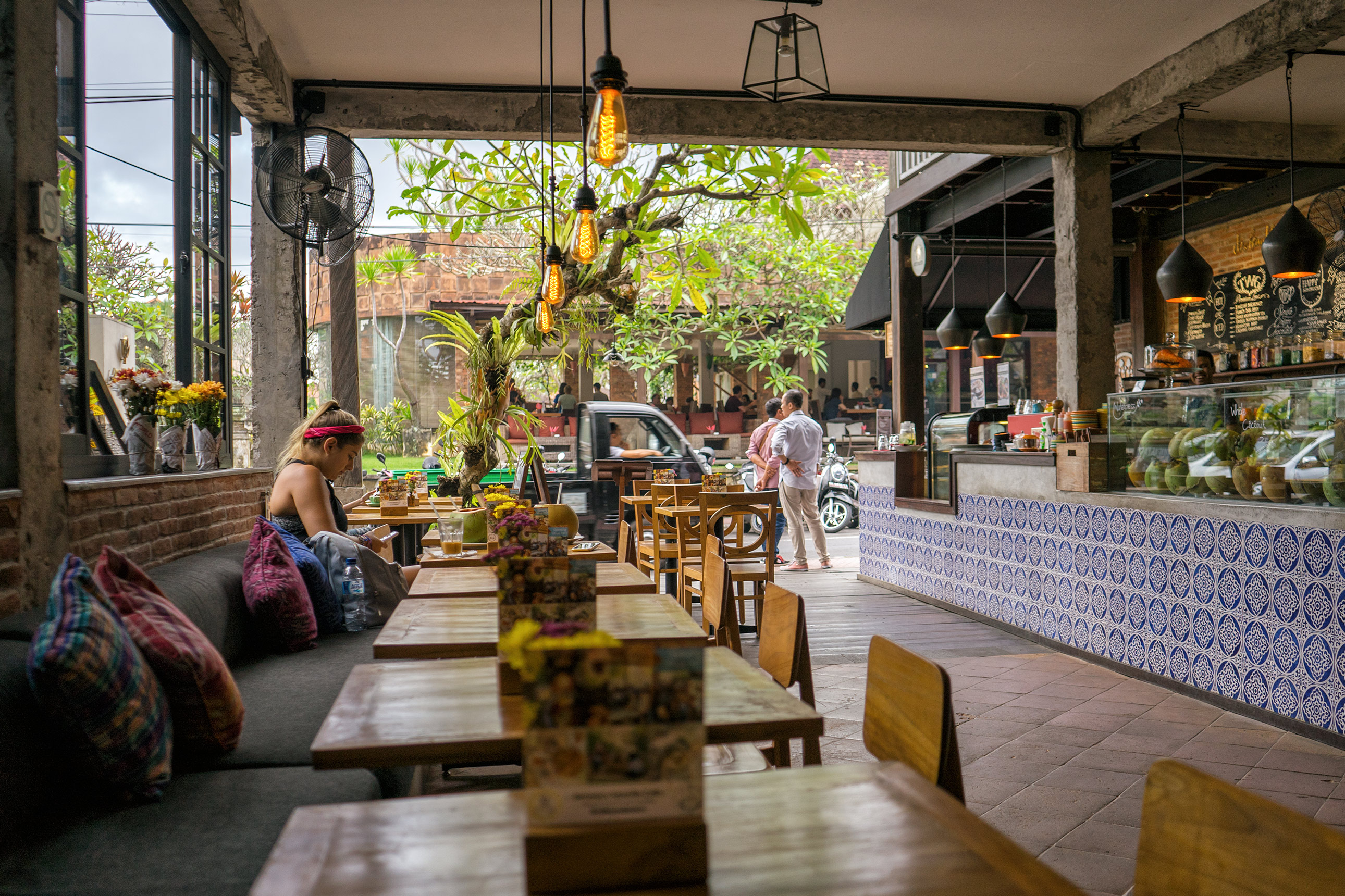 Bali Ubud Watercress Cafe Interiors