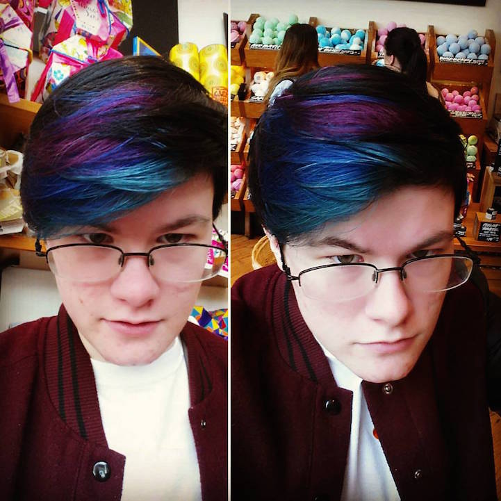 Galaxy Hair Trend Is Bringing The Cosmic Beauty Of The