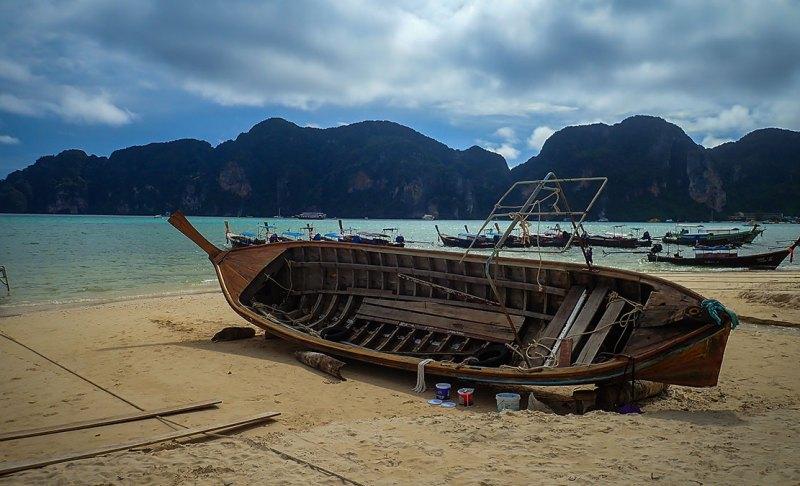 Dry Dock Boat Ko Phi Phi Thailand
