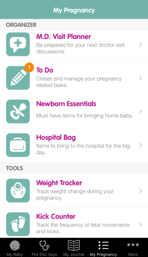 Sprout Pregnancy App