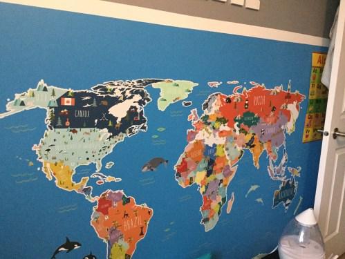 Nursery World Map