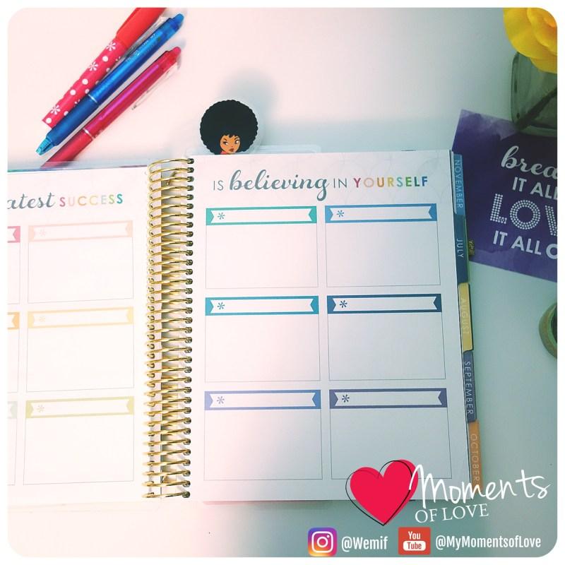 LifePlanner Goal Sheet