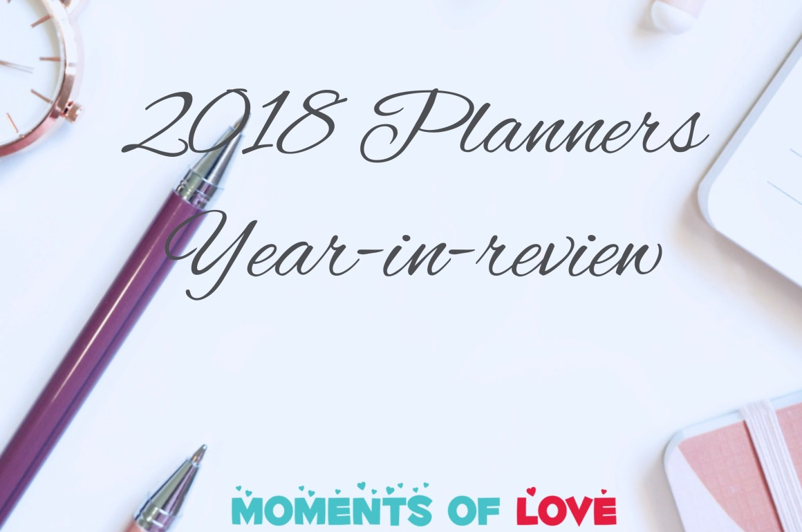 2018 Planner Review