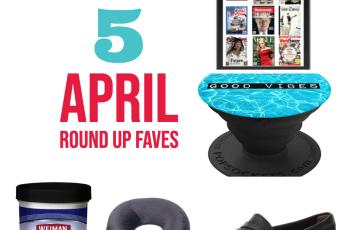april favourite items