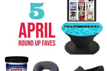 april favourite items