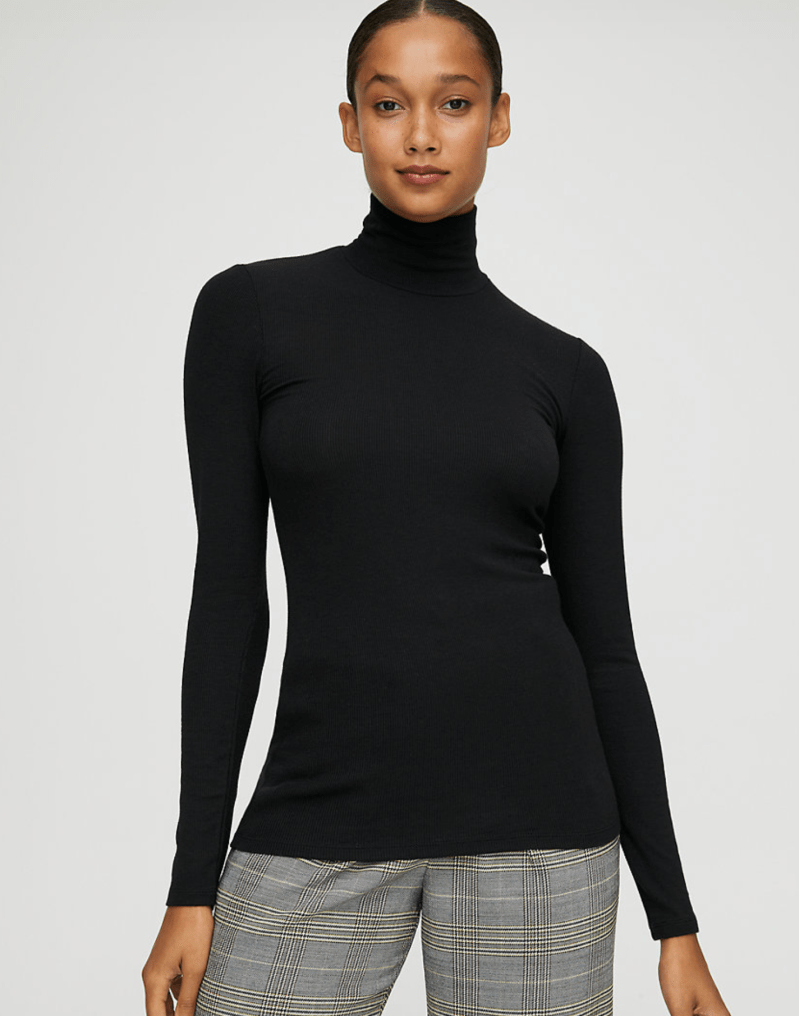 WIlfred Only Turtleneck black