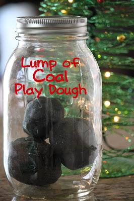 lump of coal play dough