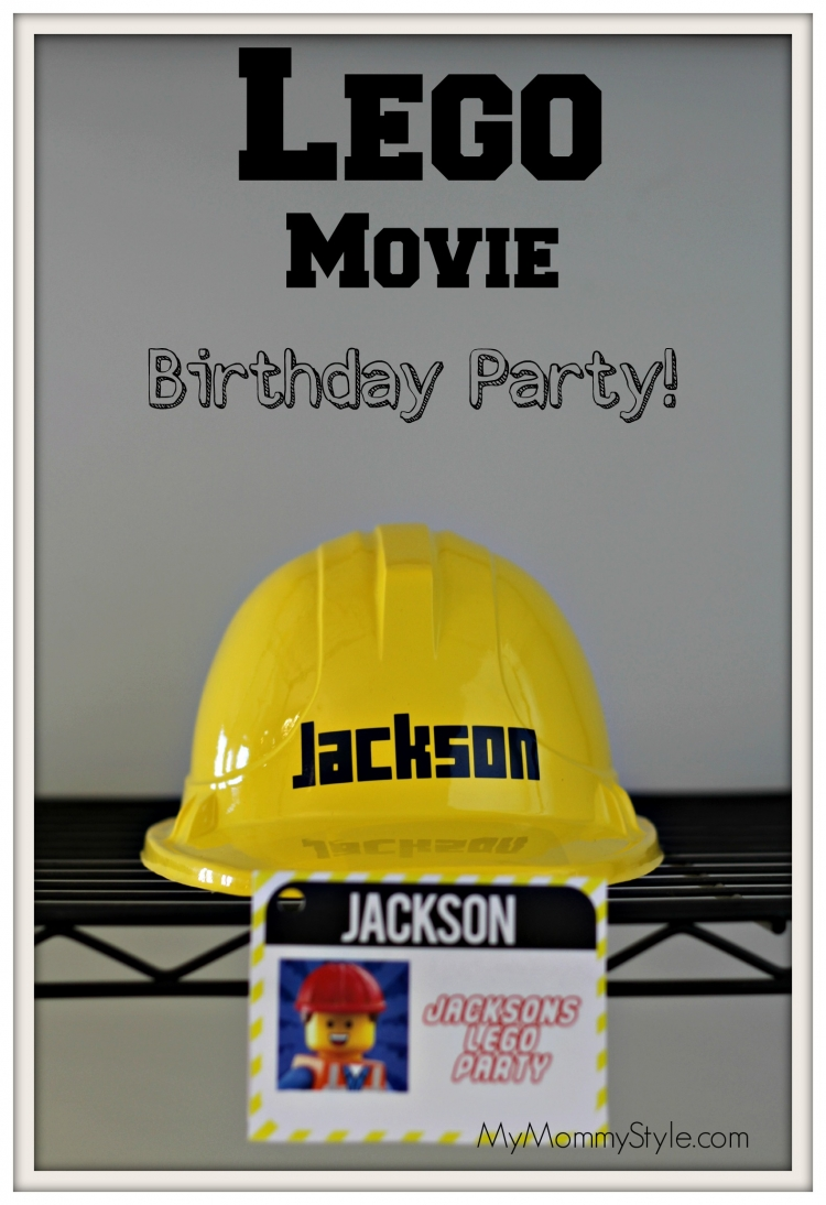 Lego Movie Birthday Party My Mommy Style