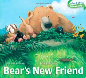 books bears new friend