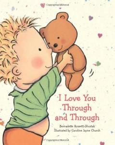 board books i love you through and through