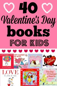 40 valentines day books for kids