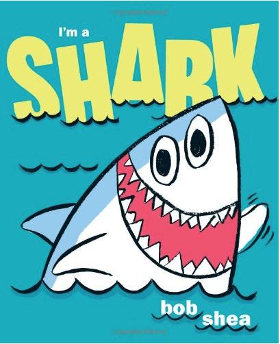 """Shark Books for Kids """"I'm a Shark"""""""