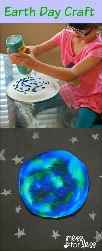 Earth Day paint craft