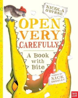 open carefully
