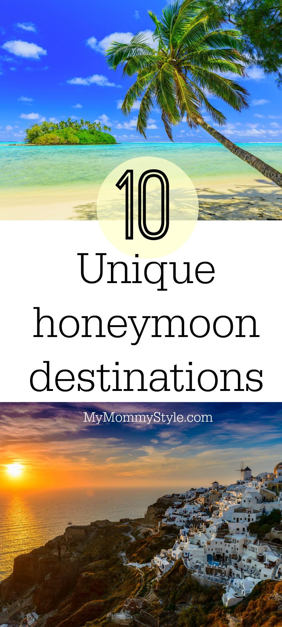Unique Honeymoon Getaways