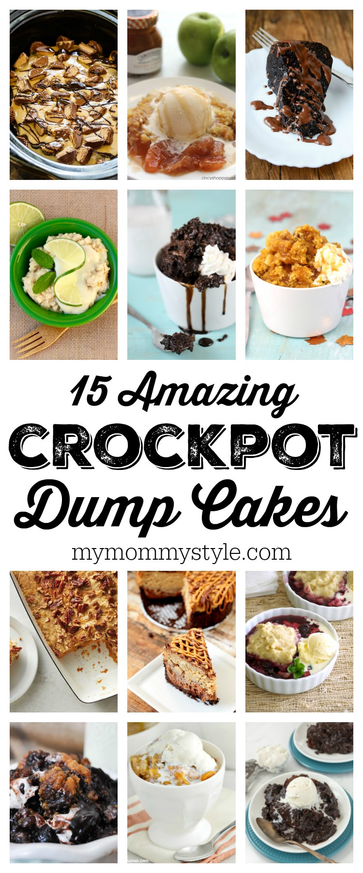 With a crockpot cake, you just dump the ingredients into the Crock Pot and a few hours later you are rewarded with a warm irresistible dessert. via @mymommystyle