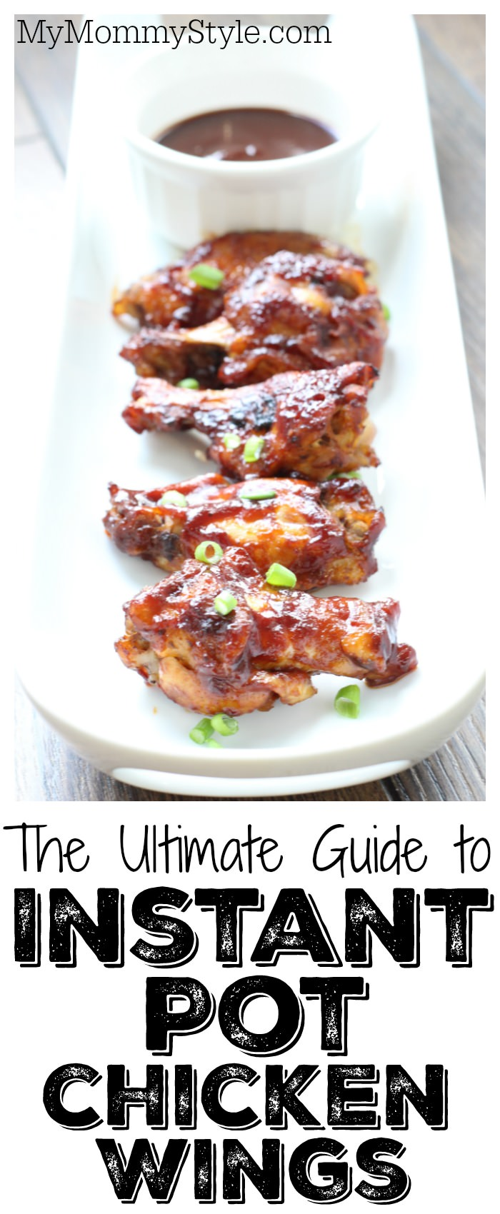 Make the perfect instant pot chicken wings from frozen to amazing in less than 30 minutes! These are oh so tender and finger licking good! via @mymommystyle