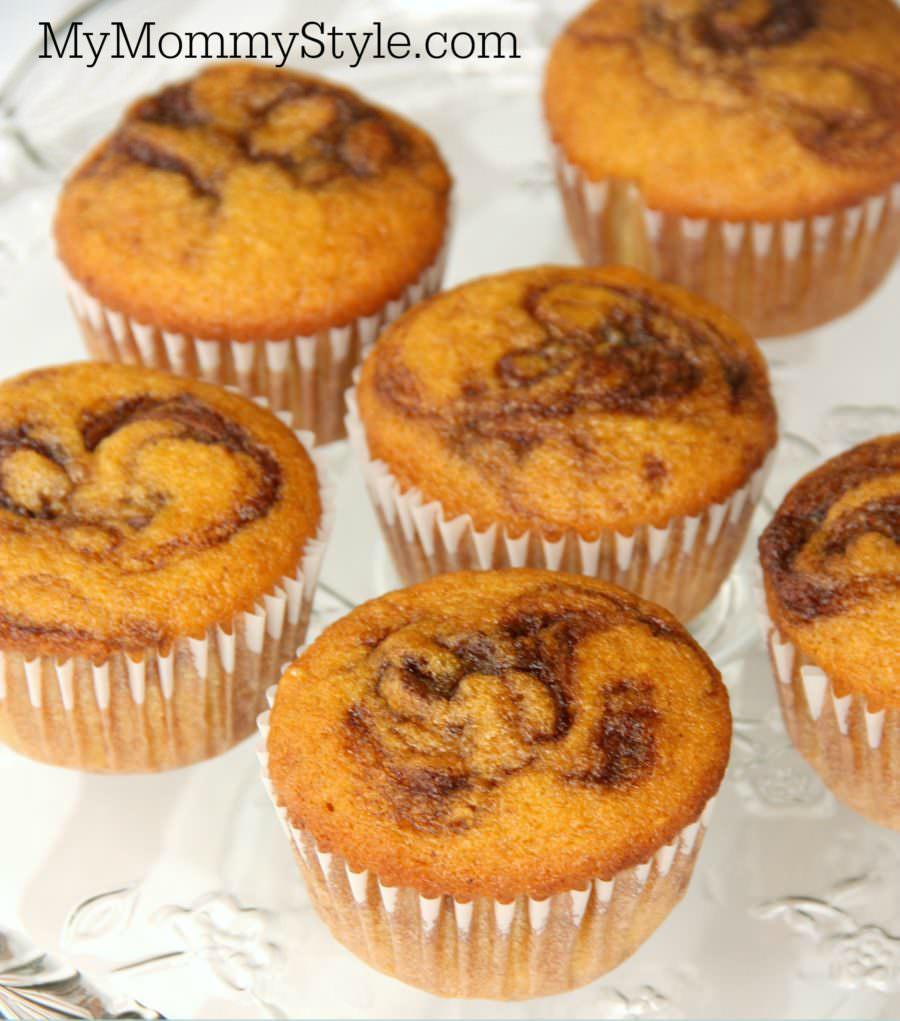 Harry Potter Butterbeer Pumpkin Muffins, pumpkin muffins, butterbeer pumpkin muffins