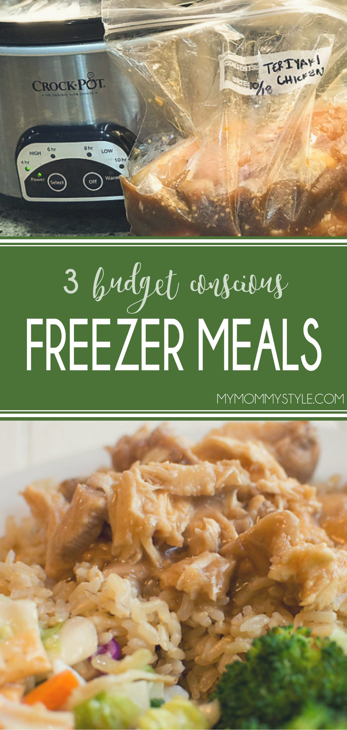 How to get the best bang for your buck when choosing budget conscious freezer meals via @mymommystyle