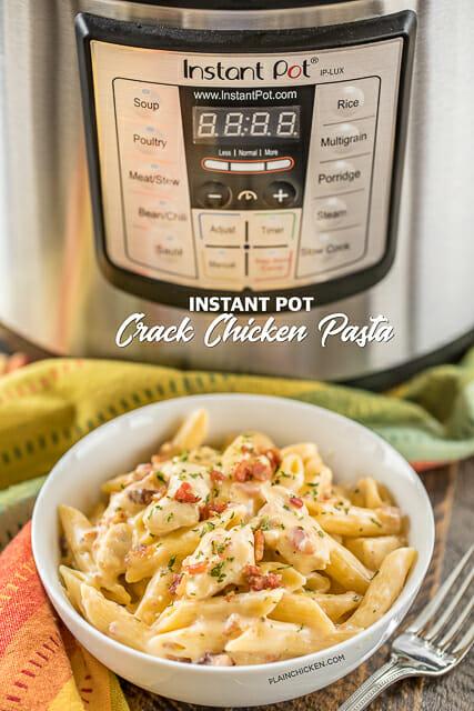 Instant Pot Crack Chicken Pasta
