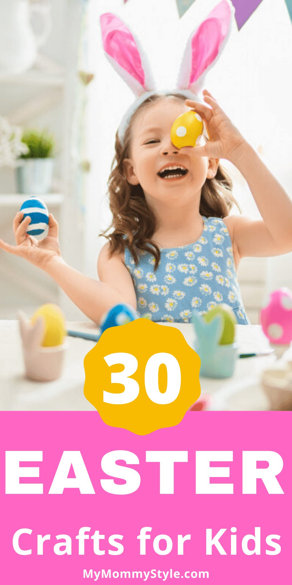 30 Easter Crafts For Kids via @mymommystyle