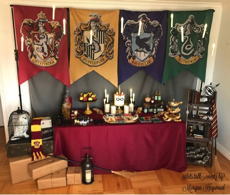 Harry Potter Party display