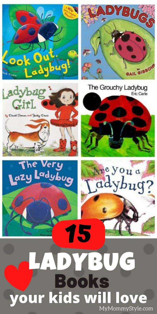 Learn and explore with these cute and colorful ladybug books. Check out this list of our favorites your kids will absolutely love! via @mymommystyle