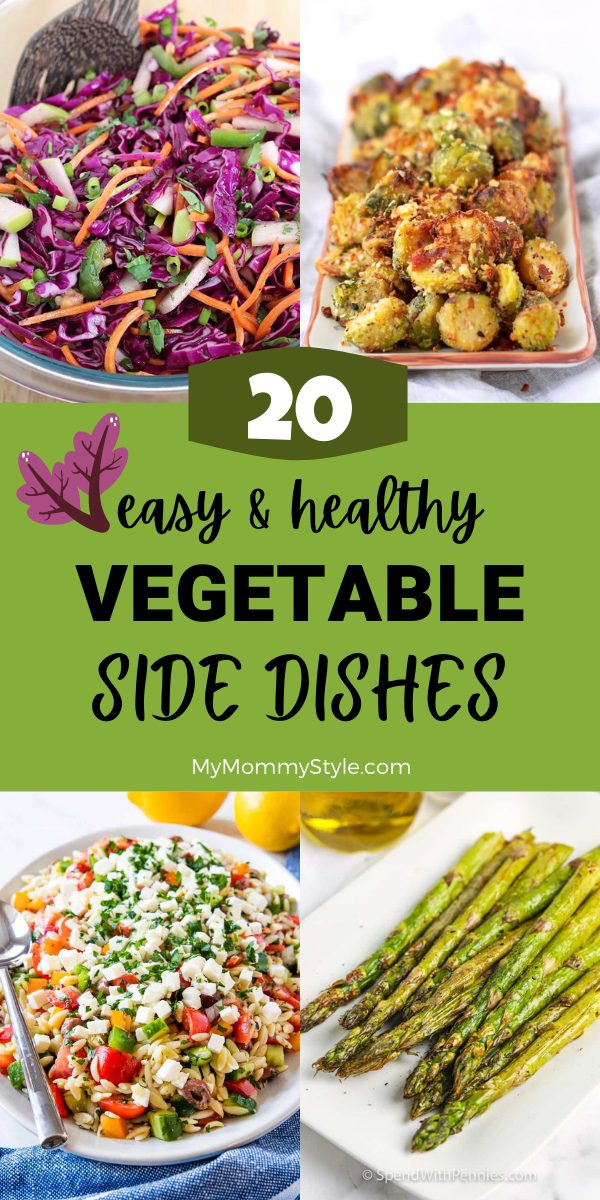 healthy vegetable side dishes