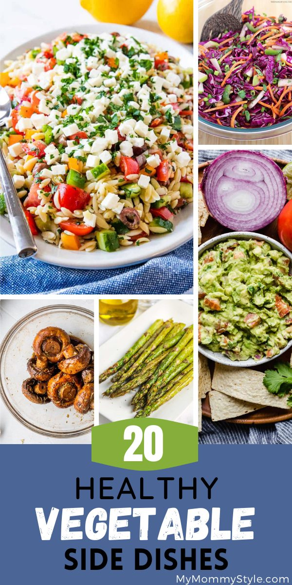 Try one of these healthy vegetable side dishes for your next meal or gathering. It's easy to make and it will add some color to your dinner plate. #healthyvegetablesidedishes #sidedishrecipes #healthysidedishes via @mymommystyle