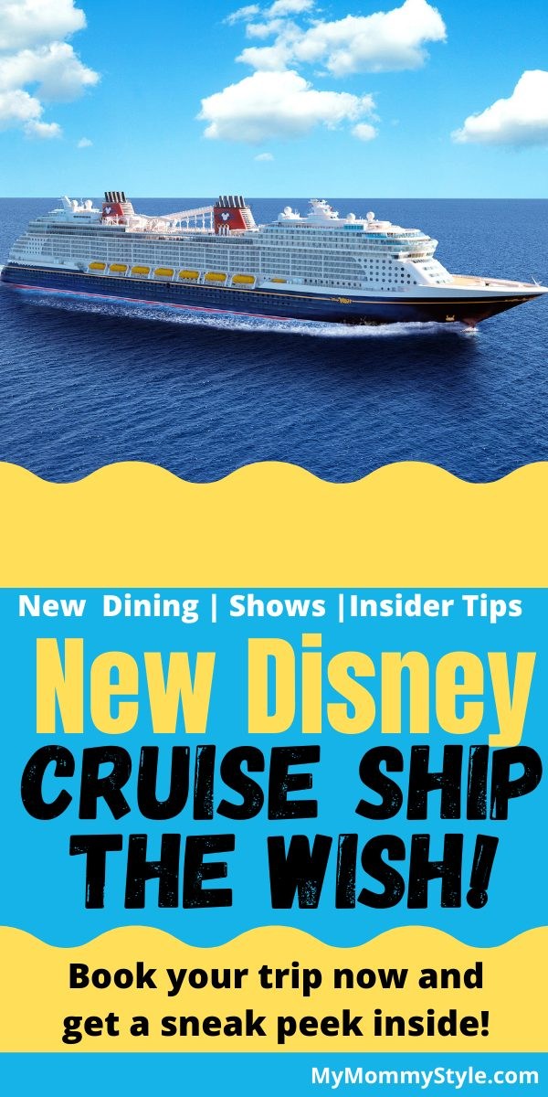 Book your Disney Cruise now on the new ship the Disney Wish! All the new features and pictures of the ship inside! I can't wait to go! via @mymommystyle