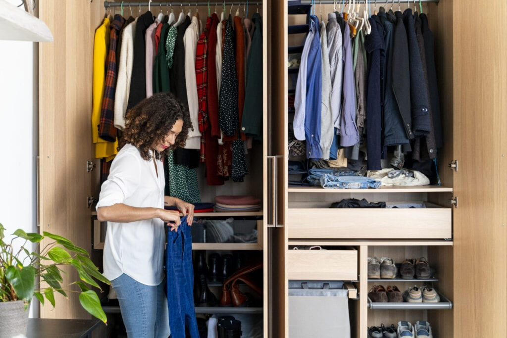 6 Closet Cleaning Tips To Finally Get Your Wardrobe Organized