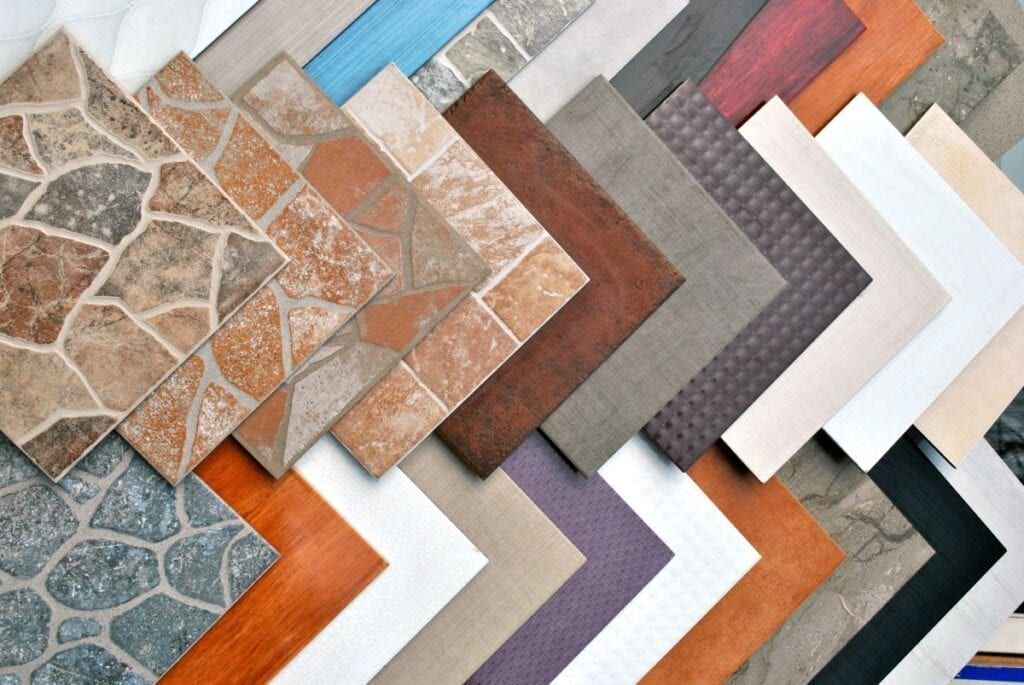 what are the different types of floor tile