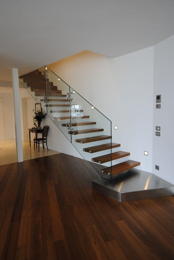 18 Select Ideas For Modern Indoor Stairs By Christian Siller | Designs Of Stairs Inside Small House | Stone Tiles | Decorating Ideas | Stair Treads | Space | Staircase Makeover