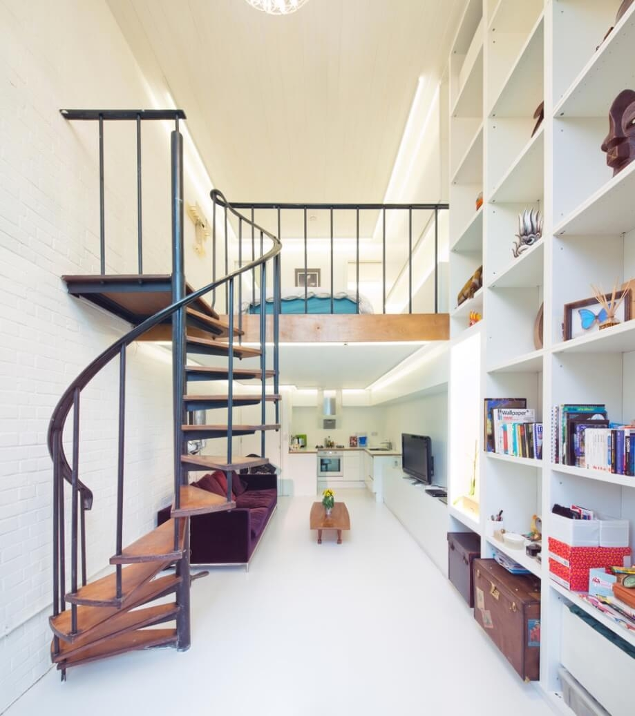 6 Ways To Get In On The Spiral Staircase Trend | Spiral Stairs For Small Spaces | Second Floor | Low Budget | Square | Low Cost Simple | Metal