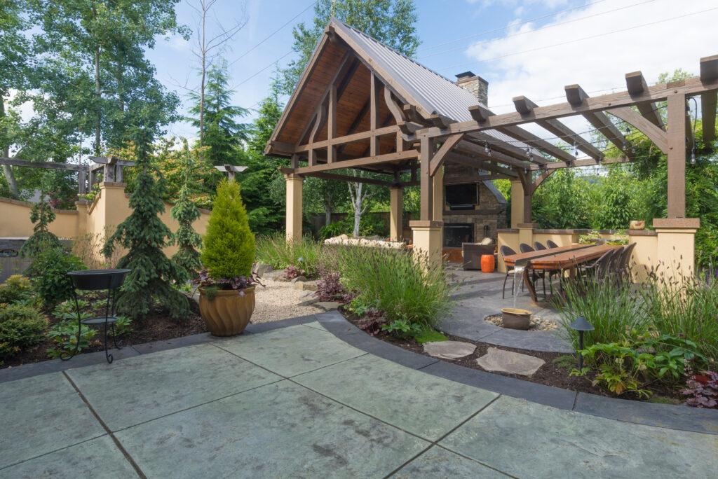 15 cheap no grass backyard ideas mymove