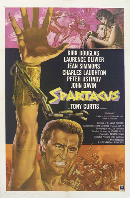 Spartacus di Stanley Kubrick (1960)