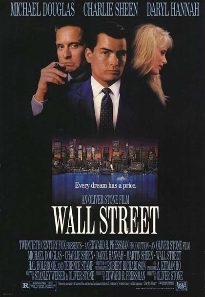Wall Street, di Oliver Stone (1987)