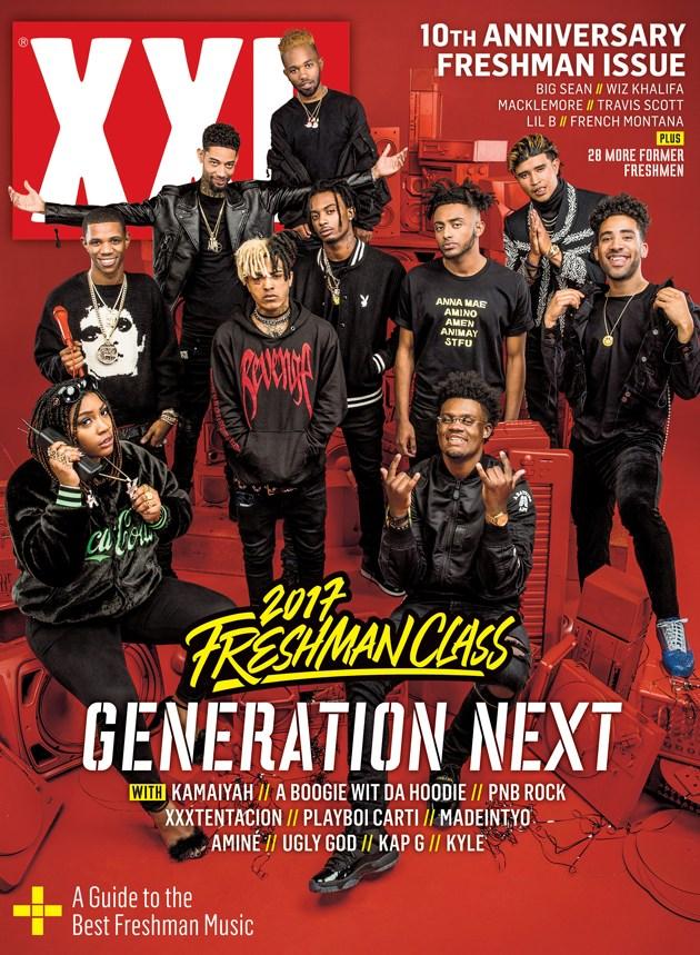 2017 XXL Freshman issue